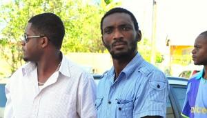 Junior Orlando Hunte, 28 (right).