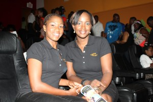 Cicely Callender and Dionne Miller
