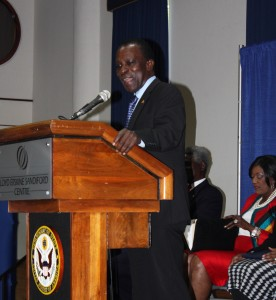 Prime Minister of Grenada Keith Mitchell.