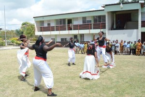 Performance commemorating Africa Awareness month