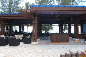 Expansive bar at Pure Ocean