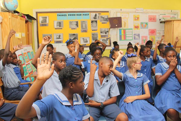 The class 4 students of St. Alban's Primary School.