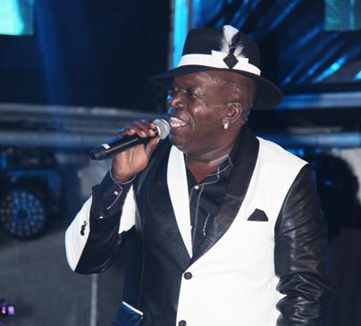 The reggae legend Barrington Levy at SLU Jazz 2014.