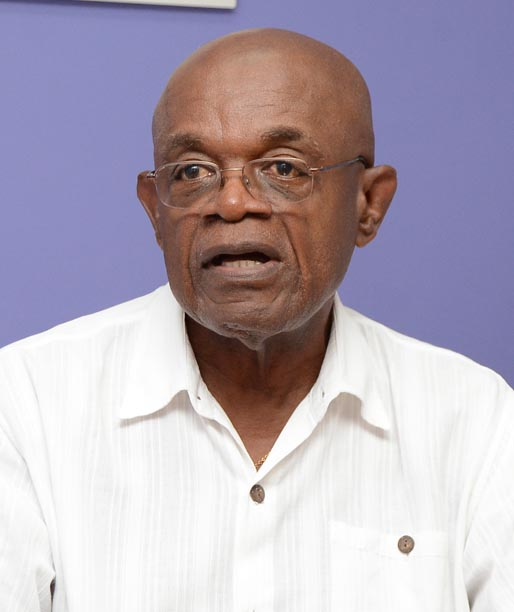 President of the Barbados Association of Retired Persons Ed Bushell.