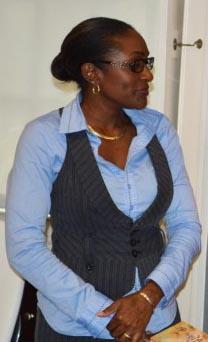 NCF's corporate communications specialist Simone Codrington