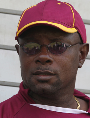 Sir Richie Richardson has indicated an interest in coaching the West Indies team.