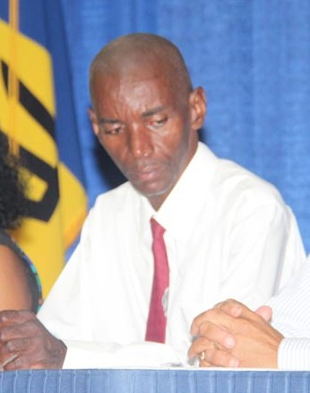 Senior industrial relations officer at the NUPW, Wayne Walrond.