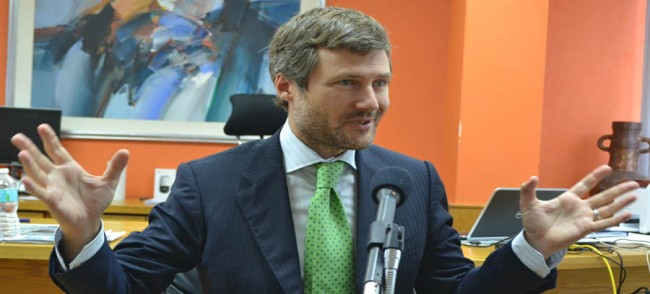 Chief executive officer for the Caribbean, Martin Roos.
