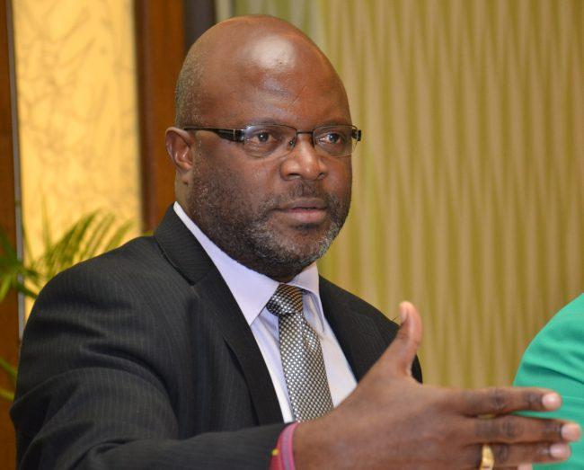 Minister of Home Affairs Adriel Brathwaite