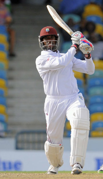 Shane Shillingford added an unbeaten half-century to his five-wicket haul in the unofficial Test.