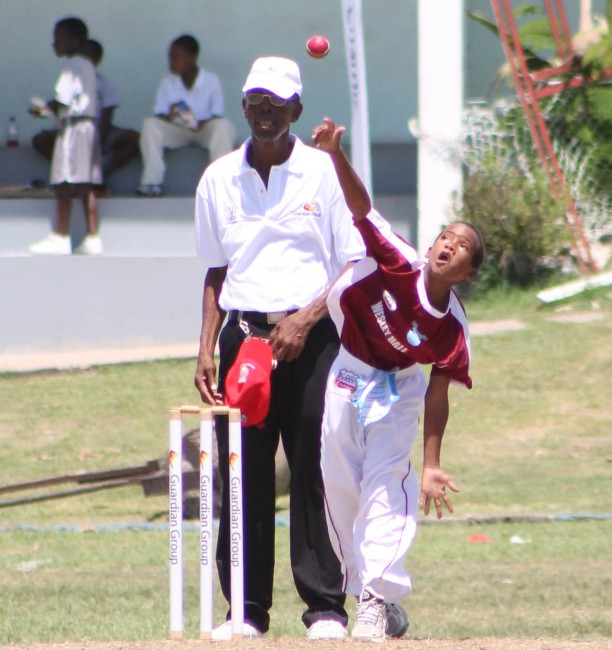 Wesley Hall captain Janesh Jaunai bowled well to capture three wickets for 12 runs. (Pictures by Marissa Lindsay)