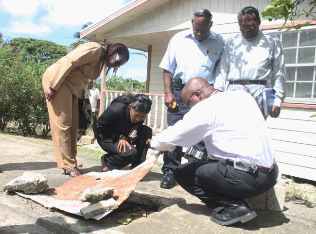 Here Dr Esther Byer-Suckoo joins with officials in a closer examination of some of the issues affecting South District residents.