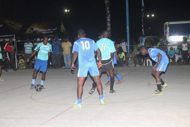 Bandee Auto Shotters versus St Andrew in baby blue. (Picture by Morissa Lindsay).
