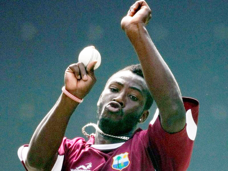 Andre Russell was the best of the West Indies bowlers.