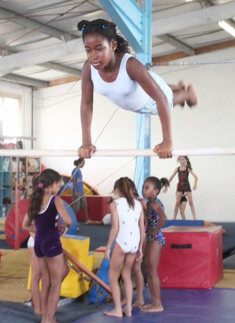 Ten-year-old Gianna Lewis will be representing Jamaica.