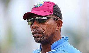 Head coach of the West Indies, Phil Simmons