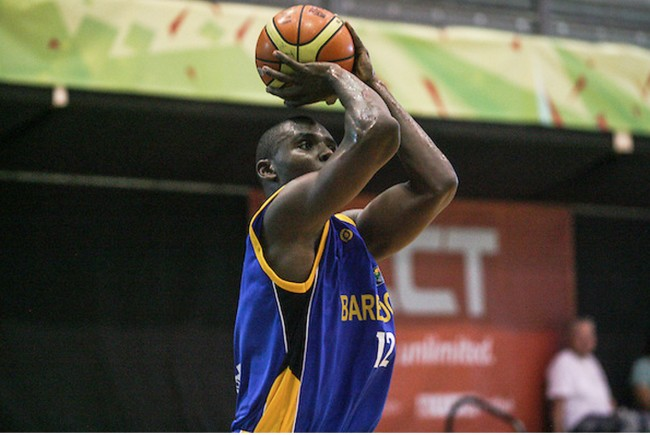 Akeem Marsh had 17 points and 20 rebounds for Barbados.