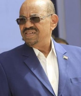 Omar al-Bashir, pictured earlier this week, is wanted by the ICC for war crimes.