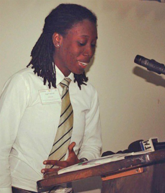 Founder of the Gays and Lesbians and All-sexuals Against Discrimination, B-GLAD, Donnya Piggott.
