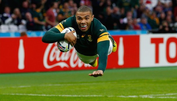 Bryan Habana was brilliant against the USA.