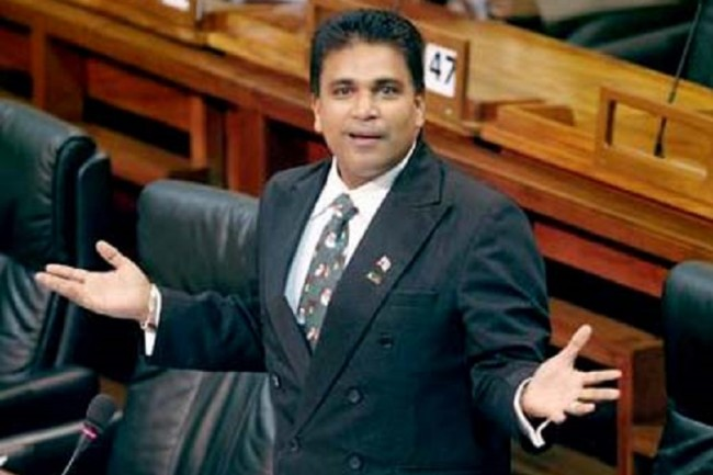 Opposition chief whip Dr Roodal Moonilal says he made the comment in the heat of the moment.