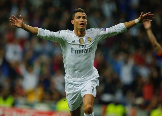Ronaldo scored twice for Real Madrid.