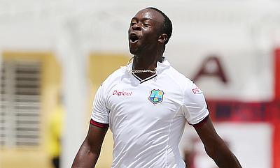 Kemar Roach is looking forward to bowling on Australia's green pitches.