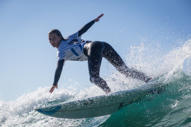 Chelsea Tuach will compete among 17 professional surfers in this year's WSL  Championship Tour.