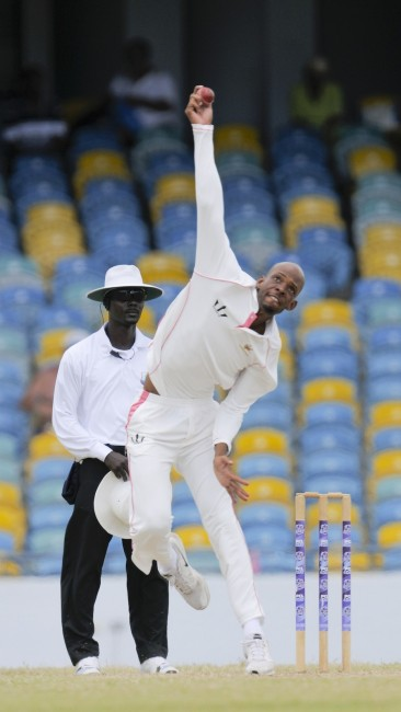 Offspinner Roston Chase reached new heights with a ten-wicket match haul.