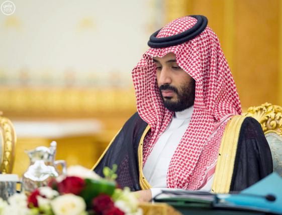 Saudi Arabia's Deputy Crown Prince Mohammed bin Salman attends a cabinet meeting that agrees to implement a broad reform plan known as Vision 2030 in Riyadh, April 25, 2016. REUTERS/Saudi Press Agency/Handout via Reuters