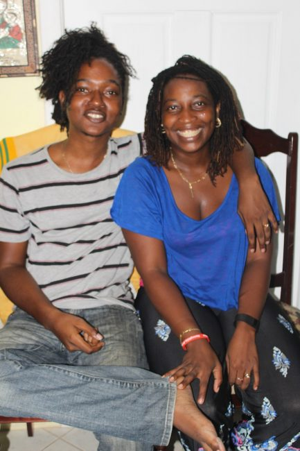 Husband and wife Ray and Desriel Greenidge, excuetive members of the Barbados Haemophilia Association.