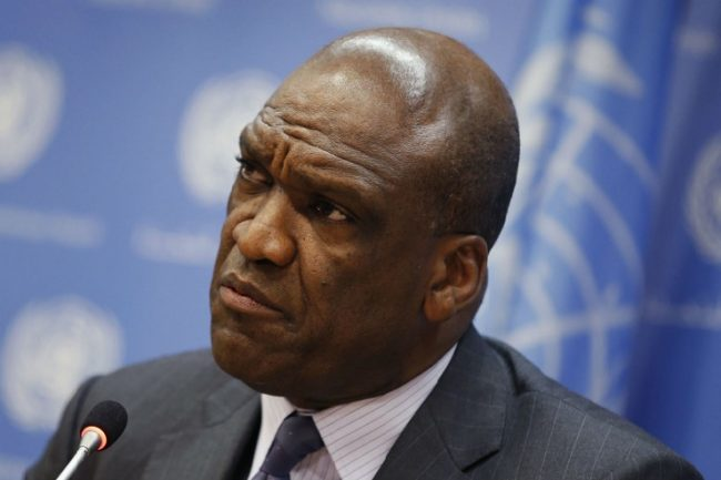 John Ashe died of a heart attack at his New York home yesterday.