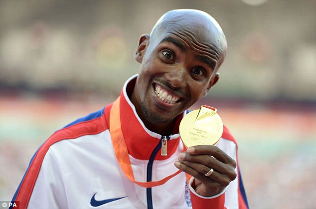 Confidential information has also been leaked  on Mo Farah.