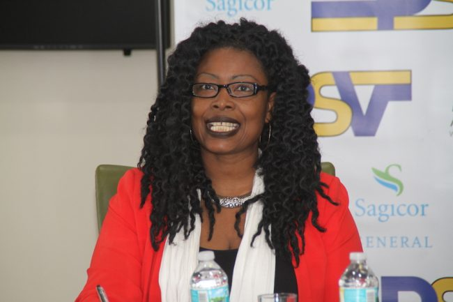 Road safety advocate Charmaine Roland-Bowen
