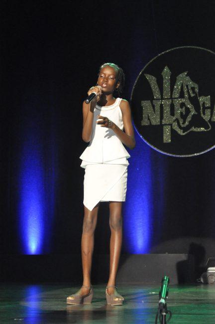 Neesha Welch singing No More Nights.