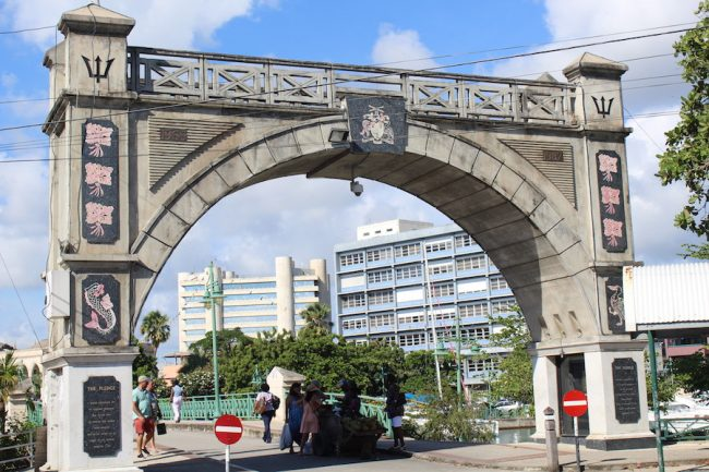 The Independence Arch in Bridgetown is in line for a make over.