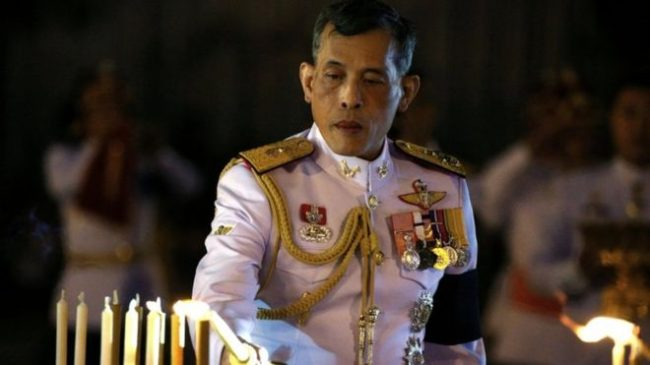 The crown prince had delayed succession in order to join people in mourning.