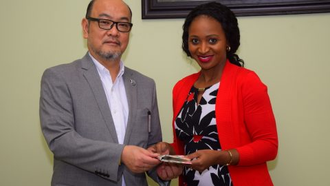 New envoy eager to share Japanese culture with Bajans