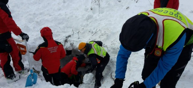ITALY – Over 30 buried under avalanche