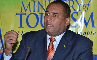 Minister of Tourism Richard Sealy