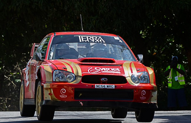 Robbie Swann is looking forward to Sol Rally Barbados 2015. (Picture by Corey Reece)