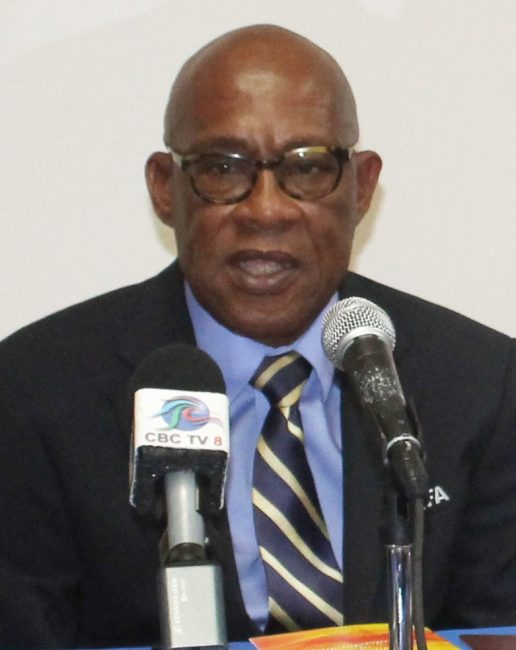 Barbados Football Association president, Randy Harris.