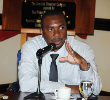 Dr Kevin Harvey, permanent secretary in the Ministry of Health.