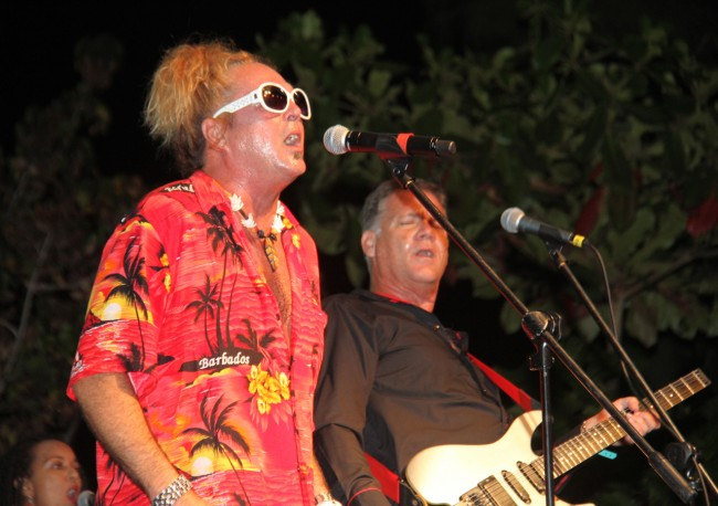 Alan Sheppard and Dean Straker of Spice And Company performing at Rhythm And Spice.
