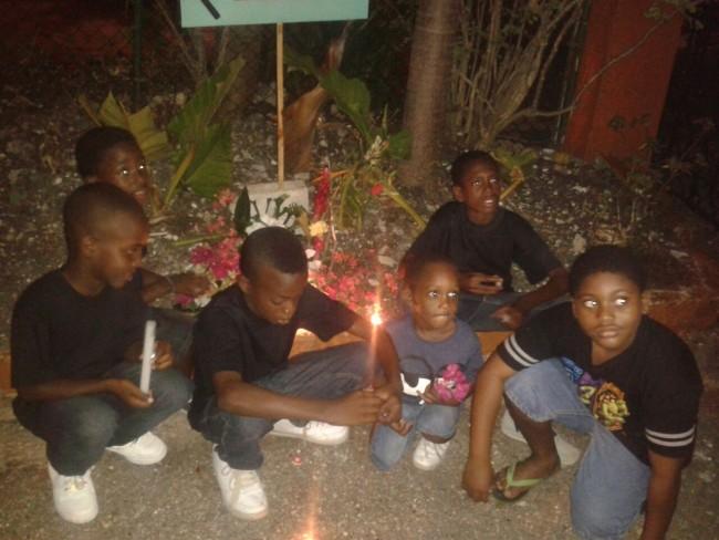 Close friends of deceased Shemar Weekes.