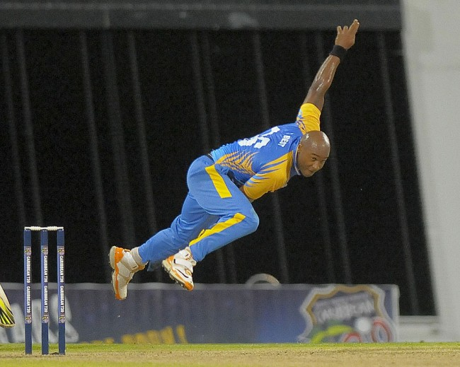 Tino Best took 6 for 6 in the T20 match against the Barbados Defence Force Sports Programme.