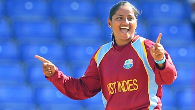 Anisa Mohammed had a good all-round match.