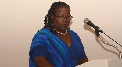 Dean of the Faculty of Humanities and Education Dr Jennifer Obidah