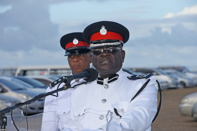 Acting Commissioner of Police Oral Williams