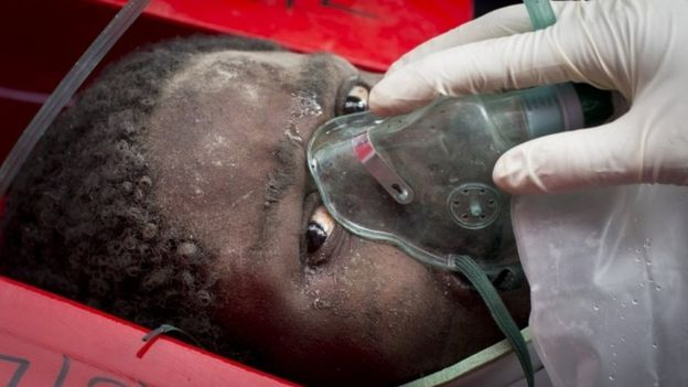 Elizabeth Night Odhiambo was rushed to hospital and survived, but she lost her baby.